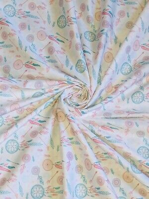 "1 X Meter Black//Blue Leaf Print 100/% Cotton Designer Dress Fabric 45"" Inch Wide"