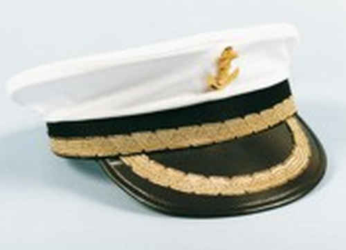Capitaine Casquette Capitaine MARIENE Marin Chapeau Casquette Capuchon costume uniforme Carnaval