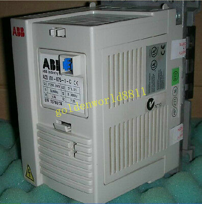 143-1K6-3-C USED INVERTER ACS 380V 0.75KW good in condition for industry use