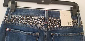 Low Olivia 25 Alice Good Rise Studded Skinny Jean Størrelse ERPqwFUPx
