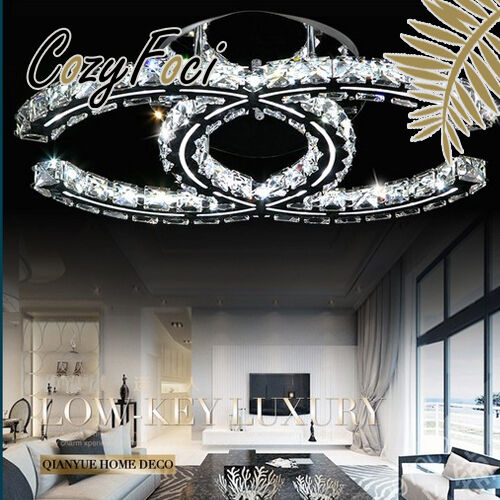 Modern LED Special Art Luxury Crystal Ceiling Chandelier Pendant Lamp Lighting