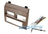 Car Truck Stereo Radio Beige Dash Installation Mounting Kit W/ Wiring Harness on sale