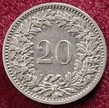 Switzerland 20 Rappen 1903 (A1111)