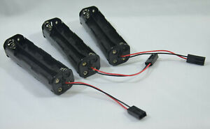 3pcs-8-x-AA-UM3x8-BATTERY-CELL-HOLDER-CASE-BOX-CONNECTOR-For-12V-RC-POWER-BANK