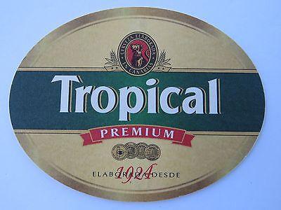 Spanien äRger LöSchen Und Durst LöSchen las Palmas Seit 1924 Islas Canarias Herzhaft Bar Untersetzer: Tropisch Premium