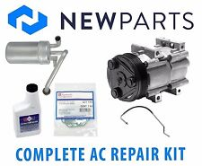 Ford Mustang Base V6 3.8L 96-98 Complete A/C Repair Kit New Compressor w/ Clutch