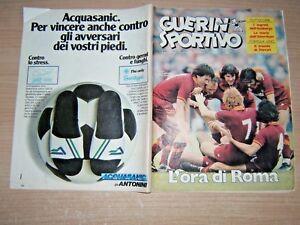 RIVISTA-GUERIN-SPORTIVO-N-18-1983-GIANNI-MORANDI-AMBURGO-ABERDEEN-STORY