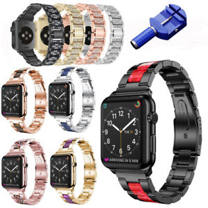 Stainless-Steel-Strap-Link-Bracelet-for-Apple-Watch-iWatch-1-2-3-4-38-40-42-44mm
