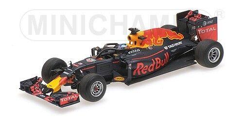 Rosso Bull Rb12 D. Ricciardo Halo Test Belgian Gp 2016 F1 Formula 1 1:43 Model