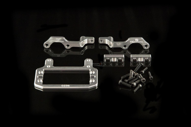 Fidracing rafforzare Throttle Servo Mount fid002s Upgrade per Losi 5ive & KM x2