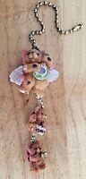 Teddy Bear Angels Fan Or Light Pull Chain