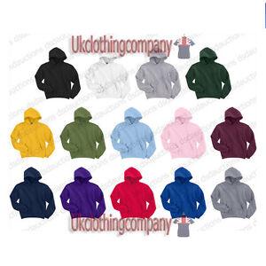 Gildan-Kids-Hooded-Sweatshirt-Heavy-Blend-Childrens-Plain-Hoodie-Blank-Hoody