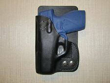 TAURUS PT 709 SLIM, leather right hand, wallet and pocket holster