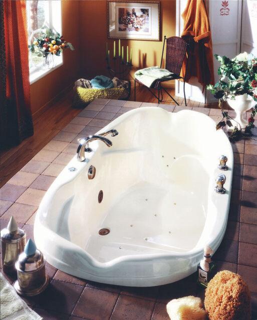Neptune Elysee 70 X 40 White Acrylic Oval Drop In Bath Tub Soaker No Whirlpool