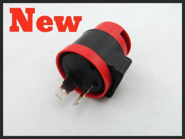 NEW 2 Pin 12V Flasher Relay Red CM200 CM200C CB400 CB400T CB450 CB450SC CB450T