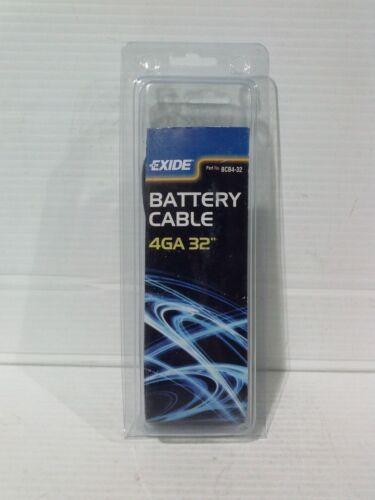 "C3-002//R#6-4204 EXIDE BCB4-32 BATTERY CABLE 4GA 32/"""