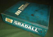 Gradall G3wd Excavator Service Shop Repair Workshop Manual With Operators Book