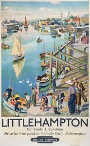railways posters british Old