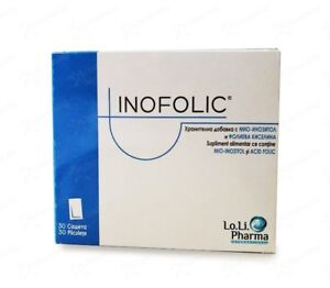 Details about INOFOLIC*30 sachets Increases Egg Quality Ideal for PCOS  patients