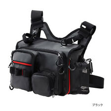 New SHIMANO Sephia EGI Tackle Shoulder Bag Black Fishing Fast Free Shipping