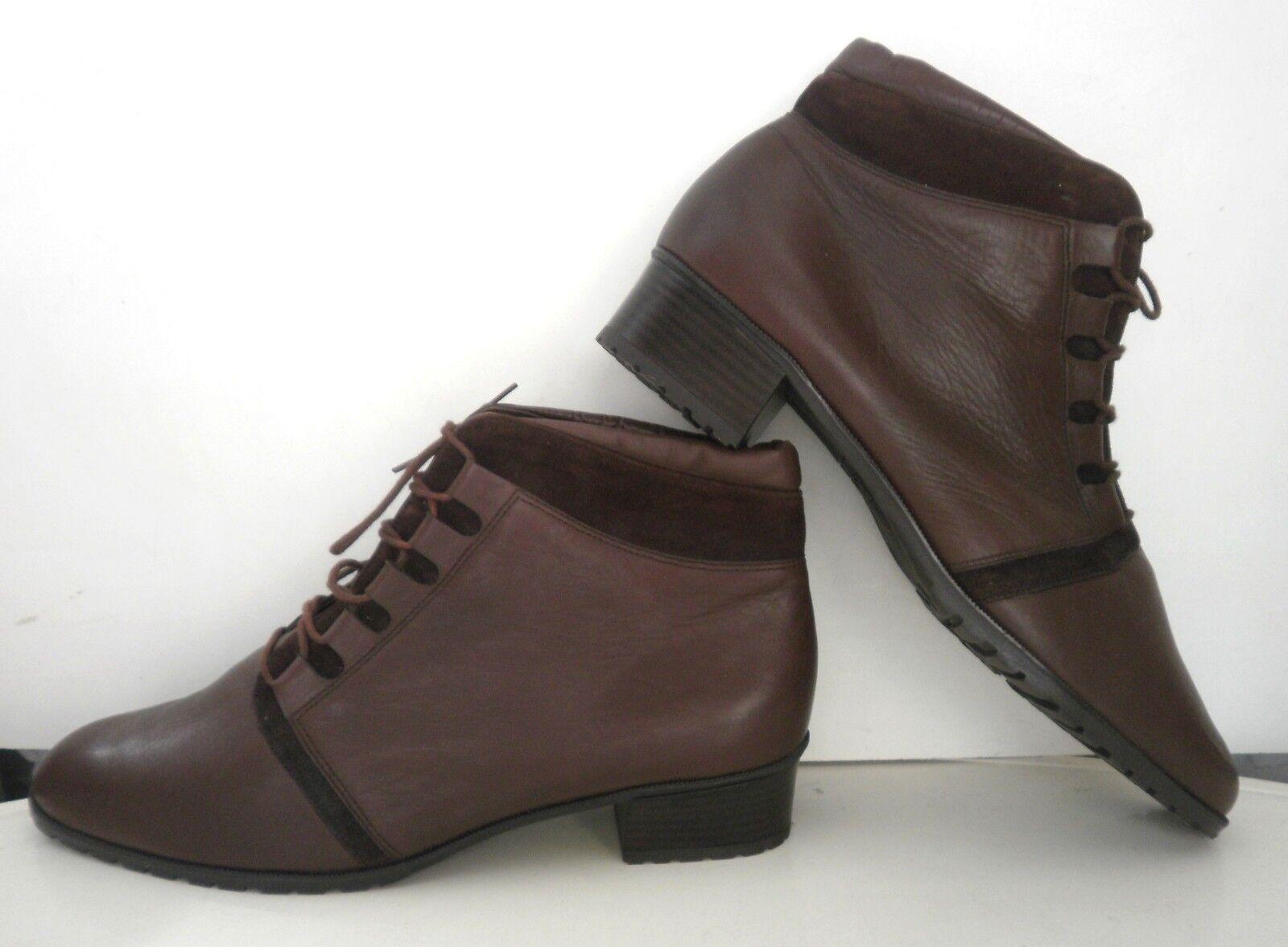 Zapatos especiales con descuento Damen Schnürschuhe Schnürstiefelette Stiefelette REMONTE TRUE VINTAGE braun NOS