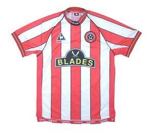 SHEFFIELD United 1999-00 ORIGINALE Maglietta (eccellente) L Ragazzi Calcio Jersey