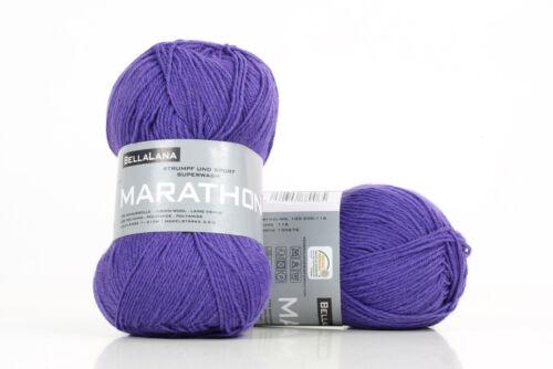 BellaLana MARATHON 50g 75/% Schurwolle//25/% Polyamid