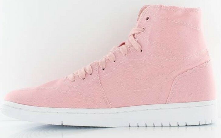 Nike Air Jordan 1 Retro High 620 Decon Sheen Weiß vachetta Uk 9.5 Pink 867338 620 High e2e70c