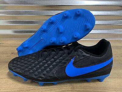 mejor lugar para online aquí venta online Nike Tiempo Legend 8 Club FG Soccer Cleat Black Blue SZ ( AT6107 ...