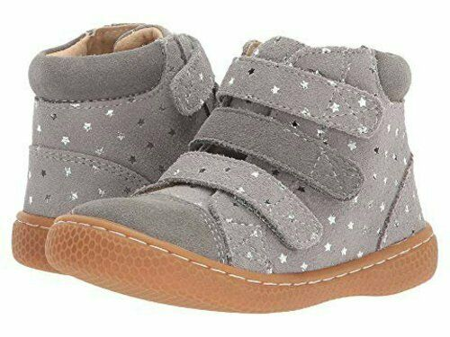 New LIVIE /& LUCA Shoes Boots Jamie Dusk Gray Silver Stars youth 2 3