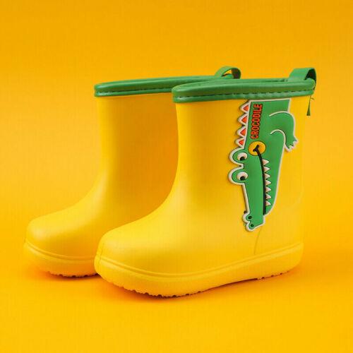 Boys Girls Little Kids Toddlers Rain Boots Waterproof  Splash Boots