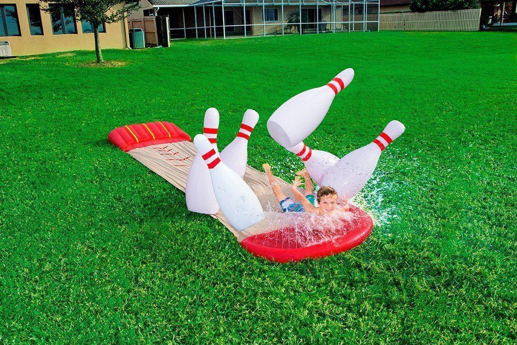 Bestway Outdoor Garden H20 Go  Slide-N-Splash Bowling - 5.49m (18ft)