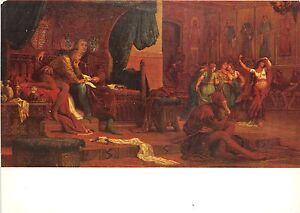 B64074-art-reproduction-Szekely-Bertalan-Ladislas-postcard-painting