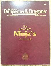 PHBR15 - The Complete Ninja's Handbook (1st) - 2e Adv Dungeons & Dragons - TSR