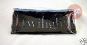 TWILIGHT-LOGO-PENCIL-MAKE-UP-CASE-with-Zip-NEW-RARE