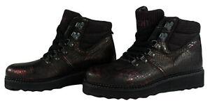 YELLOW CAB Damen Stiefeletten Y25149 Stiefel Boots Bordeaux Schnürstiefel