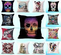 Wholesale 10pcs Sugar Skull Halloween Cushion Cover Home Decoration Pillowcases