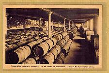 Cpa Champagne Mercier Epernay - un des celliers de fermentation tp0247