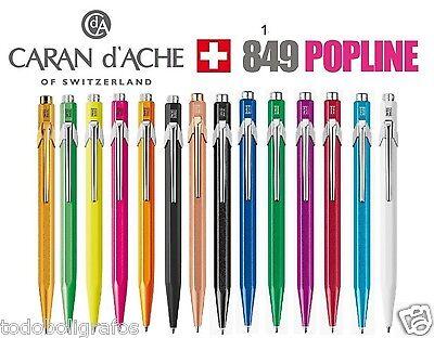 Caran D/'Ache 849 CLAIM YOUR STYLE Penna a sfera in edizione limitata vari colori