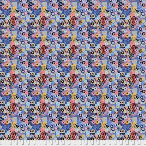 Snow Leopard Roaring 20/'s PWSL064 Jazz Deco Cotton Fabric By Yard