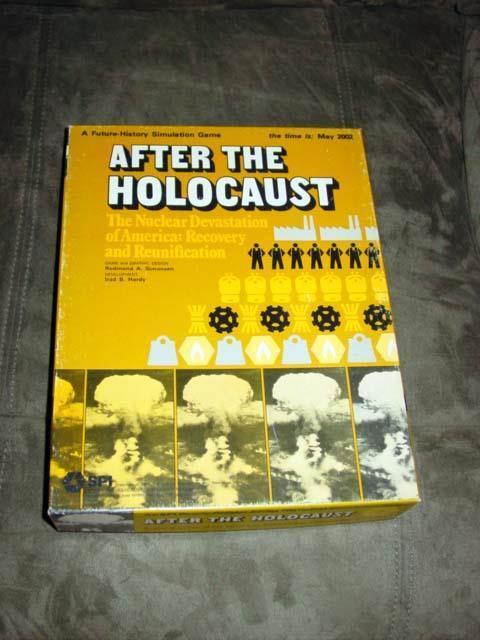 SPI 1977-Après l'Holocauste jeu reconstruire l'Amérique-Designer Box (poinçonné)