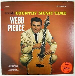 WEBB-PIERCE-Country-Music-Time-LP-1965-COUNTRY-NM-NM