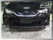 2011-2012 Subaru Impreza WRX / STI C-Speed ll Type Front Bumper Lip Carbon Fiber
