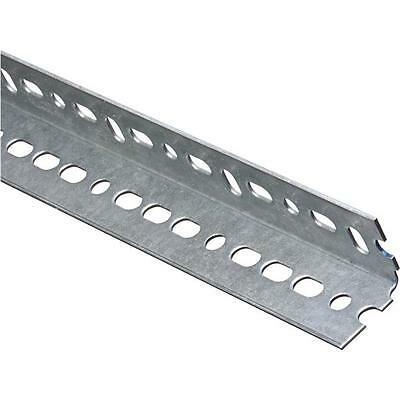 "6-Galvanized Steel 1.25/"" X 1.25/"" X 6/' Garage Door Opener Slotted Angle N341156"