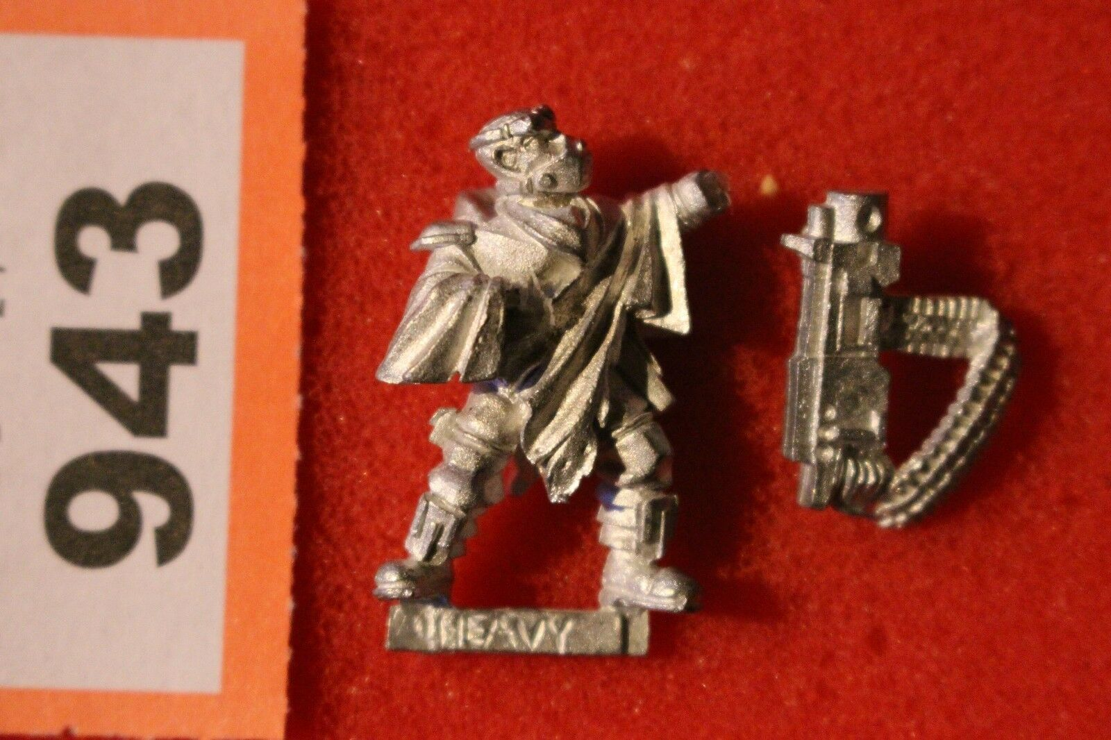 Games Workshop Necromunda Fanatic Ash Wastes Heavy Weapon New Metal Figure A1