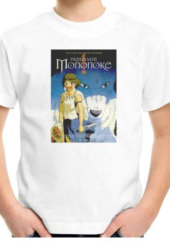 Princess Mononoke Anime Movie Poster Kids Unisex Top Birthday Gift T-Shirt 40