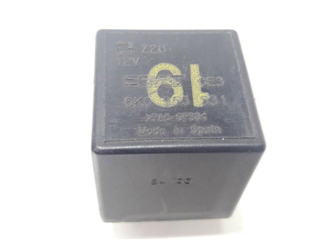 VW Polo Seat relais 19 boutons relais 6k0955531