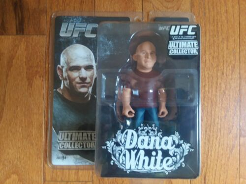 ROUND 5 UFC ULTIMATE COLLECTOR~DANA WHITE~WITH T SHIRT~OUT OF PRINT~RARE~