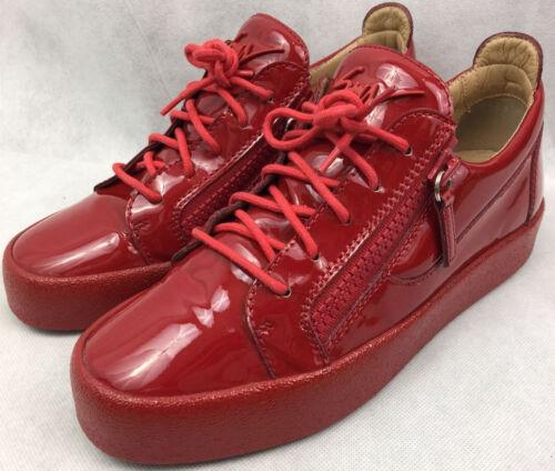 £505 Giuseppe Fiamma Trainers Sneakers London Authentic Zanotti May New Vernice zq5wYW
