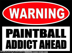 paintball sign - photo #18